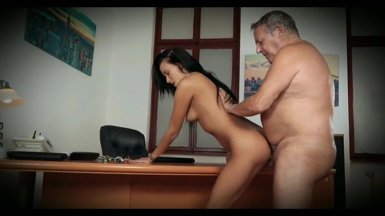 Secretary Fucks Older Boss