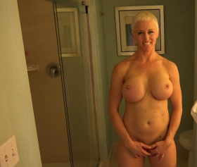 Busty MILF is a freak