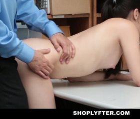 Teen is brutally fucked