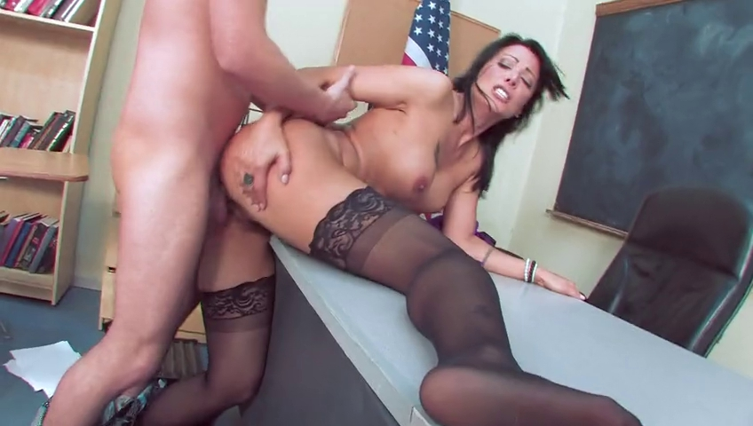 Lesbian threesome and toy