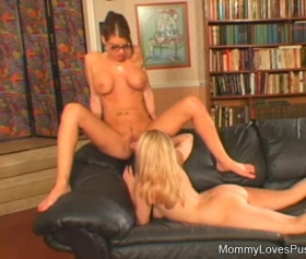 Lesbian girl and her amazing teacher